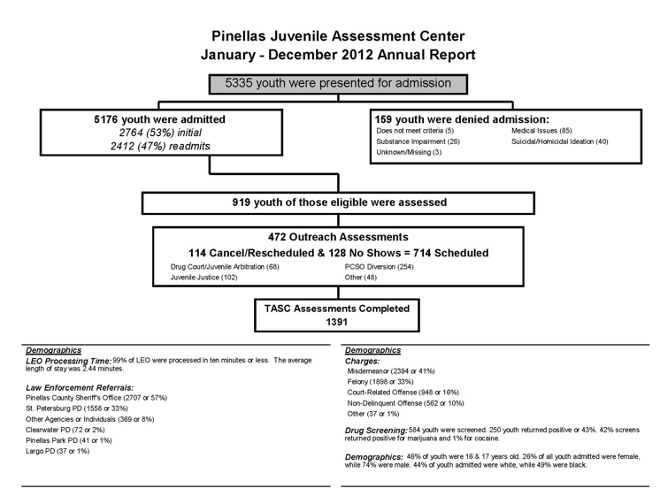 Appendix B. Pinellas Juvenile Assessment Center Annual Report