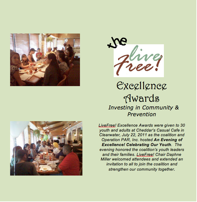 LiveFree! Excellence Awards